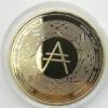 cardano ada coin gold