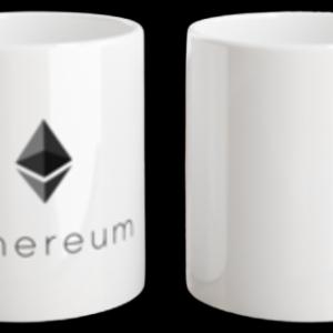 """Tasse """"Ethereum"""" weiss 325 ml"""