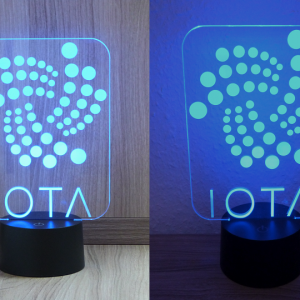 IOTA, Multicolor LED Lampe