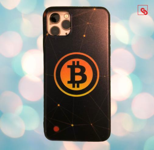 "Iphone 11 Pro Max ""Bitcoin Orange"" Silikon Case Handyhülle Cover"