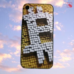 Bitcoin Pixeled Case