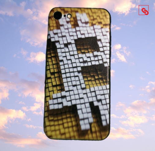 Bitcoin Pixeled Case
