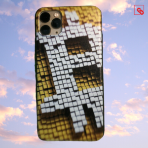 """Iphone 11 Pro Max """"Bitcoin Pixeled"""" Silikon Case Handyhülle Cover"""