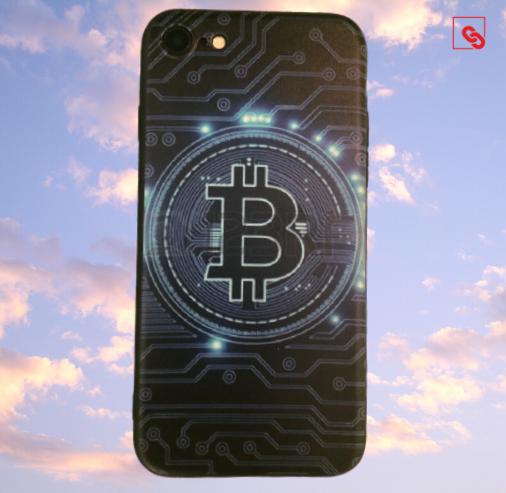 Bitcoin Case Handyhülle Black Chip