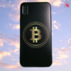 "Iphone X ""Bitcoin Gold Black"" Silikon Case Handyhülle Cover"