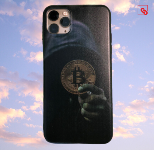 "Iphone 11 Pro Max ""Bitcoin Dark Hodler"" Silikon Case Handyhülle Cover"