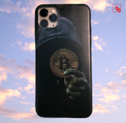 "Iphone 11 Pro Max ""Bitcoin Dark Hodler"" Silikon Case Handyhülle Cover"