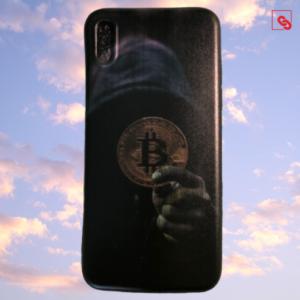 "Iphone X ""Bitcoin Dark Hodler"" Silikon Case Handyhülle Cover"