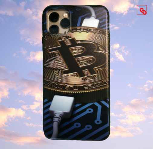 "Iphone 11 Pro Max ""Bitcoin Charge"" Silikon Case Handyhülle Cover"