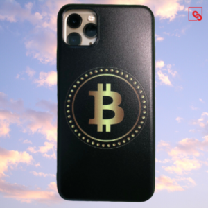 """Iphone 11 Pro Max """"Bitcoin Gold Black"""" Silikon Case Handyhülle Cover"""