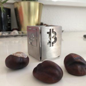 Bitcoin Kerzenständer inkl. LED Licht | FFDK Candle Holder
