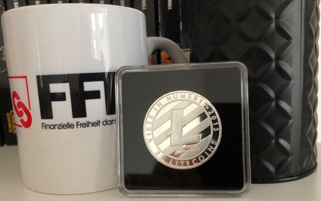 LTC front coin