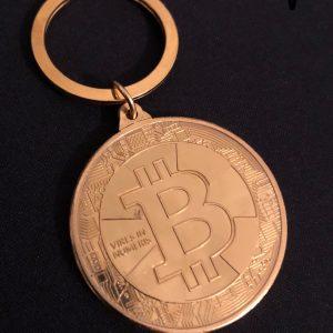 "Schlüsselanhänger ""Bitcoin Spezial"""