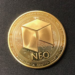 """Sammelmünze """"NEO 2018 Edition"""" gold"""