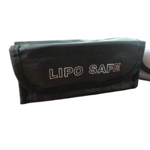 Feuerfeste Ledger Nano & Hardware Wallet Tasche 7,5 x 6 x 18,5 cm schwarz
