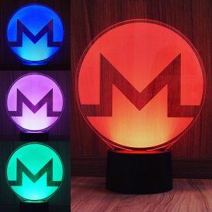 Monero, Multicolor LED Lampe