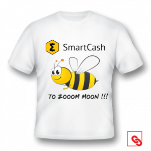 """T-Shirt """"To Zooom Moon"""" Weiss"""