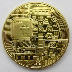 """Sammelmünze """"Bitcoin gold"""""""