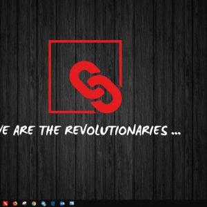 "FFDK Wallpaper ""We are the Revolutionaries …"""