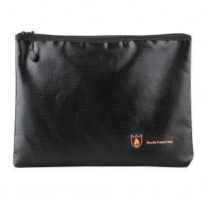 Feuerfeste Aktentasche mit Zipper 29cm x 21cm