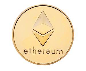 """Sammelmünze """"Ethereum gold"""""""