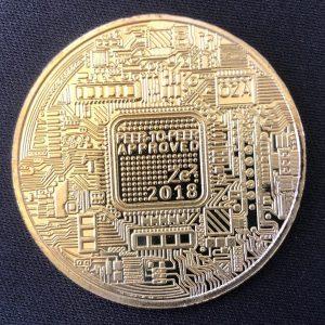 "Sammelmünze ""Bitcoin 2018"""