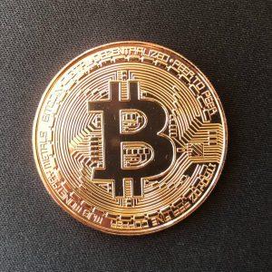 "Sammelmünze ""Bitcoin bronze"""