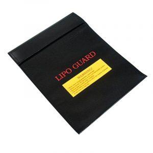 Feuerfeste Tasche schwarz